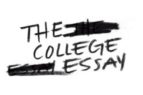 How to write essay for college admission